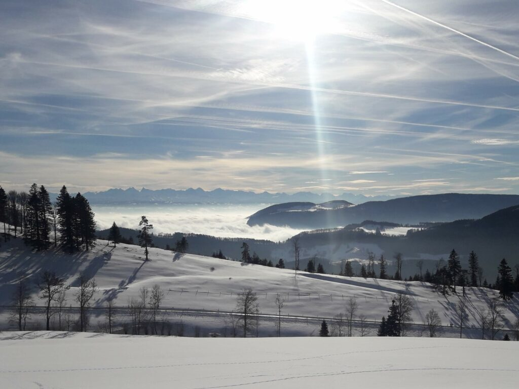 Blick über das Nebelmeer